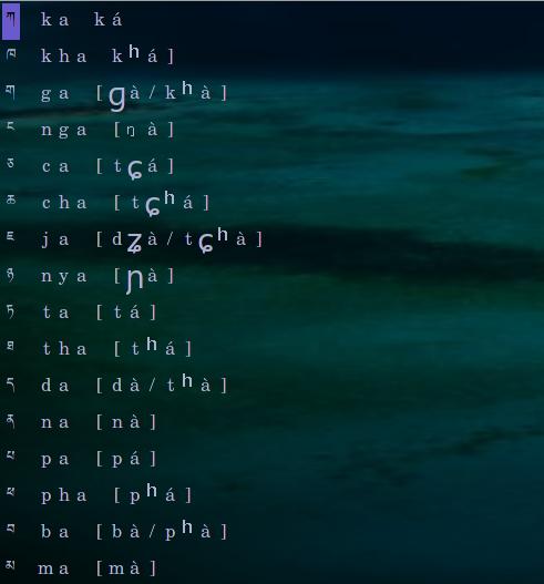 Lobzang tip #10 : tibetan fonts under linux fc10